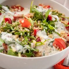 Svájci saláta   Nosalty Thing 1, Kefir, Tofu, Cobb Salad, Potato Salad, Diet Recipes, Grains, Food And Drink, Rice