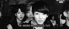 Jungkook to his (probably really proud) mom