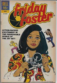 Friday Foster #1 FN- 5.5 Dell 1972 Jack Sparling cvr Joe Gill Beautiful People
