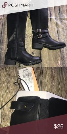 bface344522c 5.5 black boots NWT target Box 34 Shoes Heeled Boots Shoes Heels Boots