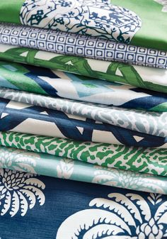 Blue and Green Group from Summer House Collection
