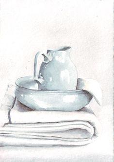 Art sold here: https://www.etsy.com/shop/HelgaMcL Still life in watercolor.