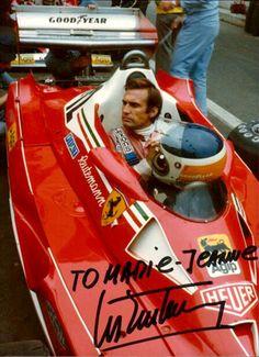 Carlos Reutemann 1977 Belgium GP Ferrari 312 T2