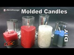 DIY How to Make candles with moulds | JK Arts 958 - YouTube
