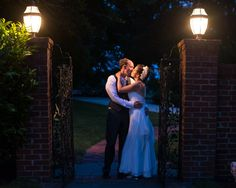 connect.the.dots event designed wedding. a kiss at the end of the night! photo by: rachel smith photography