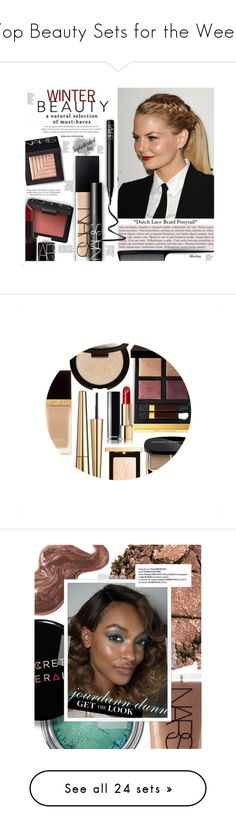 """Top Beauty Sets for the Week"" by polyvore ❤ liked on Polyvore featuring beauty, NARS Cosmetics, GHD, jennifermorrison, NARS, Becca, Tom Ford, Victoria Beckham, Yves Saint Laurent and Dolce&Gabbana"