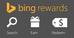 Start using Bing Rewards!