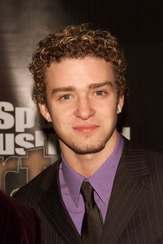 Justin Timberlake is usually a no-nonsense hottie, but his curls knock him off his usual pedestal.