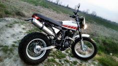 Yamaha TW 200 Scrambler McQueen by Officinezero3nta