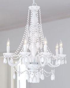 White abbi chandelier at horchow interior decor pinterest my next chandelier aloadofball Images