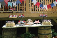 County Fair Birthday Party Desserts - Project Nursery