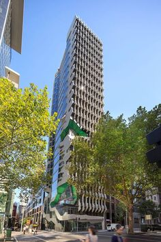 Australian Institute of Architects moves into sculptural Melbourne tower by Lyons - http://www.decorationarch.com/architecture-ideas/australian-institute-of-architects-moves-into-sculptural-melbourne-tower-by-lyons.html