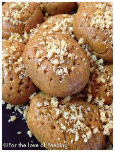 Melomakarona {Traditional Greek Christmas Cookies}