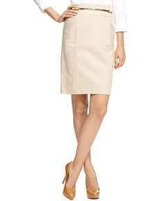 Pencil skirts are always in style! Available @Elaine Young's