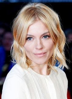 Sienna Miller shows off her ethereal glow