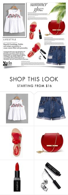 """""""SheIn"""" by rena08-1 ❤ liked on Polyvore featuring Kate Spade, Angela Valentine Handbags, Smashbox and Bobbi Brown Cosmetics"""