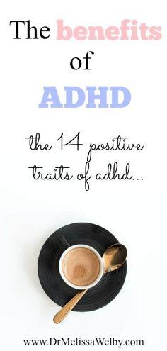 Adhd Help, Adhd Diet, Positive Traits, Attention Deficit Disorder, Adhd Brain, Adhd Strategies, Adhd Symptoms, Adhd And Autism, Adhd Odd
