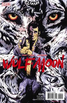 Cover design for WOLF MOON #2