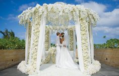 Such a beautiful wedding ceremony set up at The Mulia Resort & Villas in Bali #wedding #ceremony