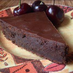 Torta de chocolate e rum