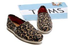 Leopard Print TOM's. :)