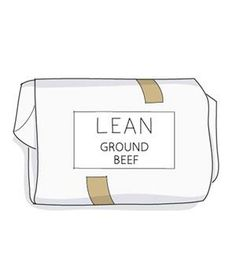 TIP: Skip the lean beef. Instead, go with ground chuck, which is typically only 80 or 85 percent lean.
