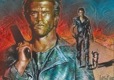 Mad Max - Double Sketch Card by JeffLafferty.deviantart.com on @deviantART