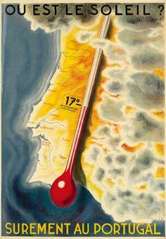 Portugal - ANDRÉ GIRARD (1901-1968) OU EST LE SOLEIL? / SUREMENT AU PORTUGAL.