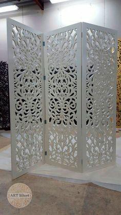 Декоративные ширмы на заказ - Art Siluet Divider, Wedding Decorations, Woodworking, Room, Wood Work, Cnc, Furniture, Home Decor, Folding Screens