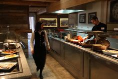 Auberge des Aravis, restaurant La Clusaz - le Buffet des Aravis   Restaurants