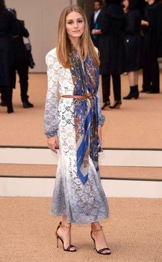 Olivia Palermo at the Burberry Prorsum Spring/Summer 2015...