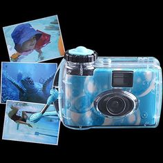 Waterproof Snapshot Camera 35 mm 400 ASA Single Use Disposable - Various Colors http://cgi.ebay.com/ws/eBayISAPI.dll?ViewItem=230937120121