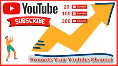 ABOUT THIS GIG! This service is to promote and grow your You Tube channel. I will just need the link of your channel to get started. _QUALITY OF MY GIG!_ / Introduce your channel to organic audience / 100% Satisfaction guarantee / Safe and Professional Service / No password required / Free 24/7 customer services I will promote your YT channel to active and real audience no BOT subscribers, i always abide by youtube rule and regulation. .......................... youtube,subscribers Online Marketing, Digital Marketing, Youtube Subscribers, Professional Services, You Youtube, Get Started, How To Introduce Yourself, Promotion, Channel