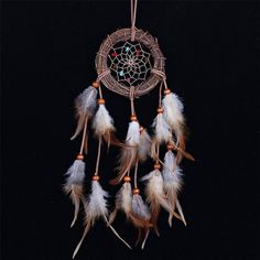 Cheap Home decor Rattan Dream Catcher with Feathers Rome Wall Hanging Decoration Ornament Brand Dreamcatcher Affordable Home Decor, Easy Home Decor, Diy Home Crafts, Cheap Home Decor, Decor Crafts, Rome, Dream Catcher White, Dream Catchers, Dream Catcher Native American