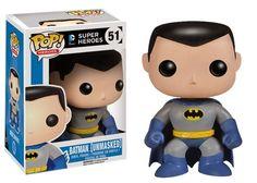 Unmasked Batman Pop Vinyl Figure