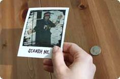 make scratch-off photo gifts...so cool!