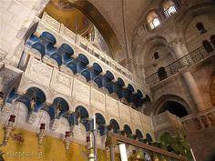 Inside the Church of the Holy Sepulchre, Jerusalem