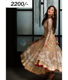 Bollywood Designer Slawar Suit Yami Gold