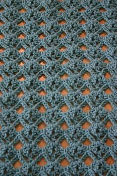 Diamond stitch croch