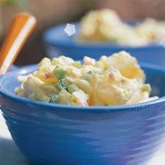 Curried Yogurt & Dill Potato Salad