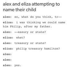 Naming Phillip- Hamilton