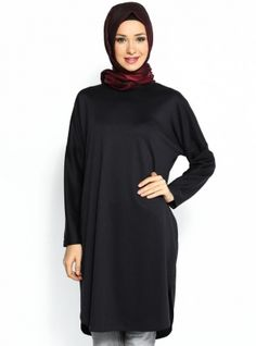 Klasik Tunik - Siyah - Cml Collection