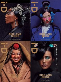 I-D MAGAZINE COVERS BY CHEN MANI-D MAGAZINE COVERS BY CHEN MAN