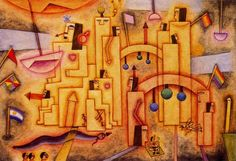Rey - Xul Solar (Oscar Agustin Alejandro Schulz Solari) - argentino (1887-1963)