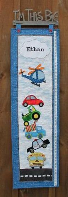 Pastime Pieces is an inspiring quilt shop featuring cotton for quilting and sewing, a large supply of patterns and books, kits, thread, wool and some notions Growth Charts, Helicopters, Your Child, Tractors, Pattern Design, Trucks, Kit, Quilts, Patterns