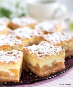 nagrzanego do 200 st. Lemon Cheesecake Recipes, Chocolate Cheesecake Recipes, Polish Desserts, Polish Recipes, Other Recipes, Sweet Recipes, Dessert Drinks, Dessert Recipes, Different Cakes