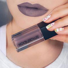 Smashbox Matte Liquid Lipstick in Chill Zone - Ordered and can't wait to see how it looks on me! Kiss Makeup, Love Makeup, Makeup Inspo, Makeup Inspiration, Beauty Makeup, Hair Makeup, Makeup Lipstick, Makeup Cosmetics, Makeup Ideas