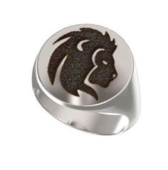 Signet Ring, Mens Ring, Personalized Ring, zodiac Sign, Leo Symbol, Horoscope Emblems, The Lion, Engraved Round Ring, 925 Silver https://www.etsy.com/shop/Ronninfinity