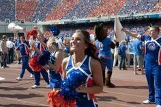 Boise State football games are a great (and popular) place to show school spirit. Go Broncos! #BoiseState #BroncoNation
