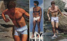 John F. Kennedy Jr. ...the eternal boxers vs. briefs question